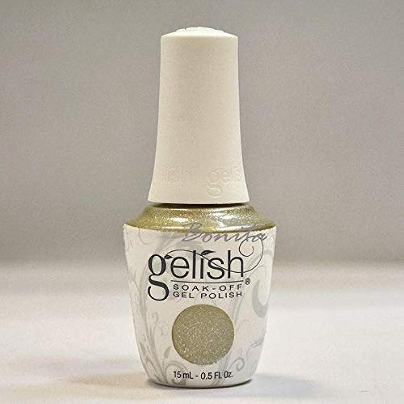 気になる完璧な侵入するHarmony Gelish Gel Polish - Give Me Gold - 0.5oz / 15ml