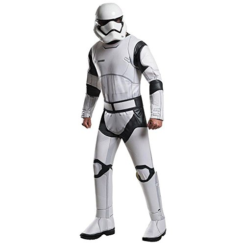 Generique - Stormtrooper White Kostüm für Erwachsene - Star Wars VII Deluxe M / L