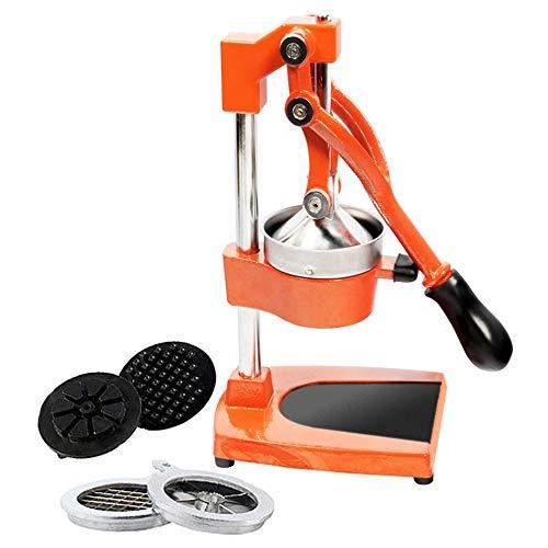 RICOO RGP102 Spremiagrumi manuale Centrifuga per frutta e verdura Juicer con braccio Estrattore universale Pressa Torchio Accessori cucina