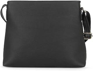 Baggit Women's Satchel Handbag (Black)