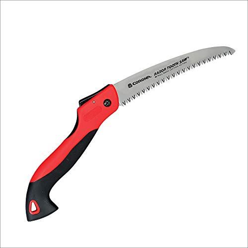Corona RS 7245 Razor Tooth Folding Saw, 7-Inch Curved Blade, Steel