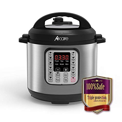Review Of Acare 6 Qt 7-in-1 Programmable Pressure Cooker,6 Quart/6L Stainless Steel Multi-Use Cooker...