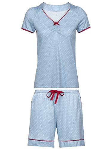 Vive Maria Chou Chou Short Pyjama Blue Allover, Größe:S