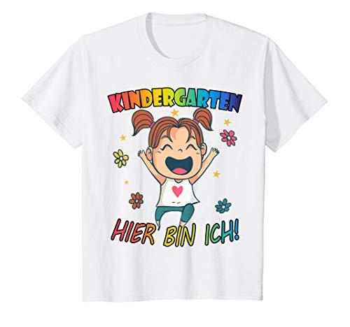 Kinder Kindergartenkind 3 Jährige Mädchen Geschenk Kindergarten T-Shirt