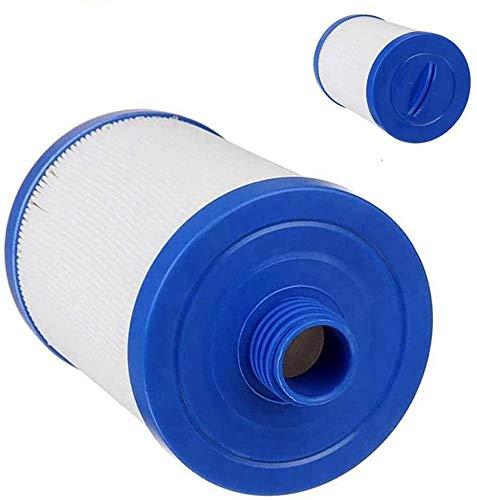 LIANHUAA Cartucho de filtro para filtro Whirlpool, rosca gruesa de 46 mm, filtro de repuesto para spa, tienda de hidromasaje, cartucho de filtro para filtro de láminas, Plug & Play (2)