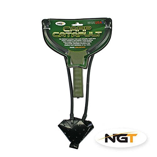 NGT Carp Fishing Tackle Catapult For Multi Use Including Particle Boilie Pellets