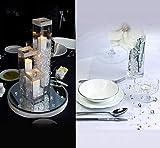 10000Stk Deko-Diamanten 6mm Farblos Absofine Diamantkristalle Transparent Kristall Dekosteine Tischdeko Diamanten Streudeko Hochzeit Dekoration - 4