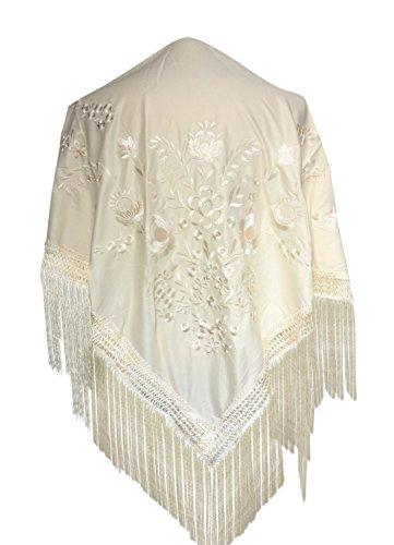 La Señorita Mantones bordados Flamenco Manton de Manila cre