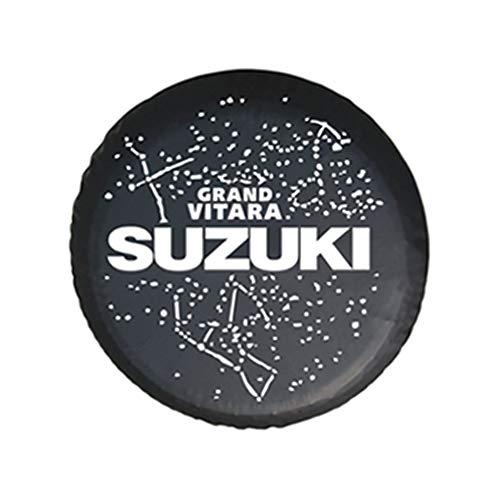 Cubierta para Rueda de Repuesto de Adecuado para 4WD Suzuki SX4 Grand Vitara Luxury Isuzu Amigo Rodeo Axiom. Funda Protectora para Rueda de Repuesto de PVC, neumático de Repuesto Cubierta,No 3,16''