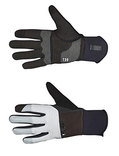 Northwave Guantes Largos Power 3 Gel Negro/Reflectante - Talla: L