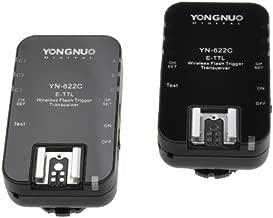 Yongnuo YN-622C TTL Wireless Flash Trigger 1/8000s Flash Ratio for Canon 5D 300D