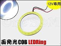 E-2-25 面発光COB LEDリング 白 ポジションやヘッドライト、テールのLED加工に CB400SF ホーネット ジェイド フォルツァ ライブディオZX Jog ジョグZR シグナスX マジェスティ XJR400 ゼファー400 ZRX400 バリオス バンディット GSX400インパルス イナズマ