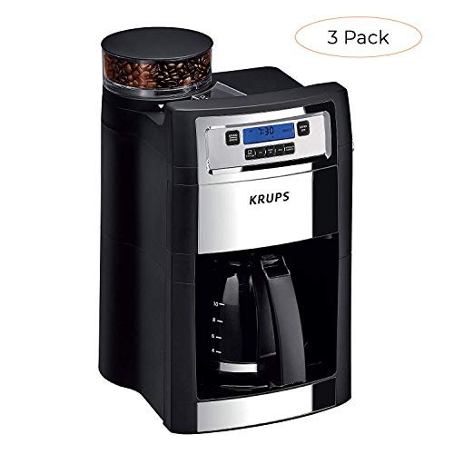 Buy Bargain KRUPS KM785D50 Grind and Brew Auto-Start Maker with Builtin Burr Coffee Grinder, 10-Cups...