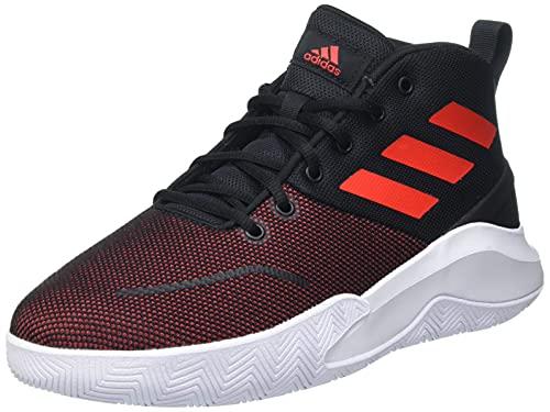 adidas OWNTHEGAME, Zapatillas de Baloncesto Hombre, NEGBÁS/Rojint/FTWBLA, 46 EU