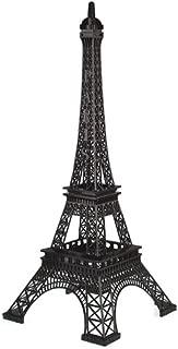 Homeford Firefly Imports Tall Metal Eiffel Tower Paris France, 20-Inch, Black