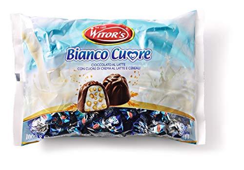 Witor's Pralinen bianco cuore - Beutel 1 Kilo