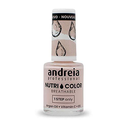 Andreia Professional NutriColor - Ademend Vegan Nagellak - NC10 Pink 10.5ml