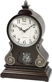 Rhythm CRH223NR06 Sound In Place Wooden Table Clock