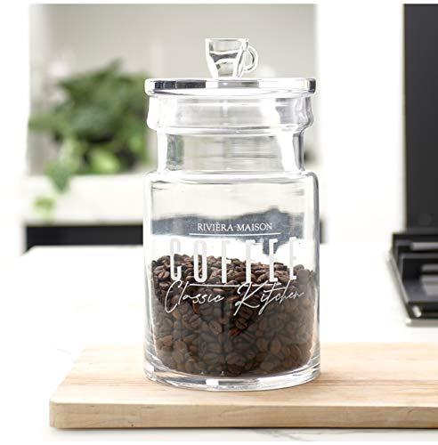 Riviera Maison - Classic Kitchen Storage Jar - Vorratsglas/Aufbewahrungsglas - Glas - Klar - (D x H): 14 x 30 cm - Gr. M