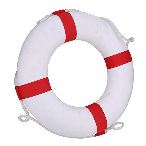Raguso Sicherheit Aufblasbarer Ring Rettungsschwimmer Boje Schwimmer Rettungsring Erwachsenen Kind Schwimmbad