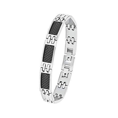 Amor Armband für Herren, Edelstahl