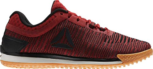 Reebok Jj Ii Low Mens Red Textile Athletic Lace Up Training Shoes 7
