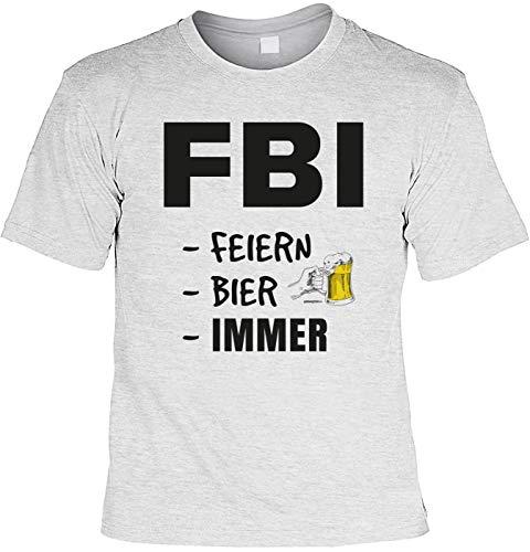 Carnavalshirt T-shirt FBI feesten bier altijd carnaval pak Leiberl fun carnavaltijd carnaval carnaval carnaval kostuum