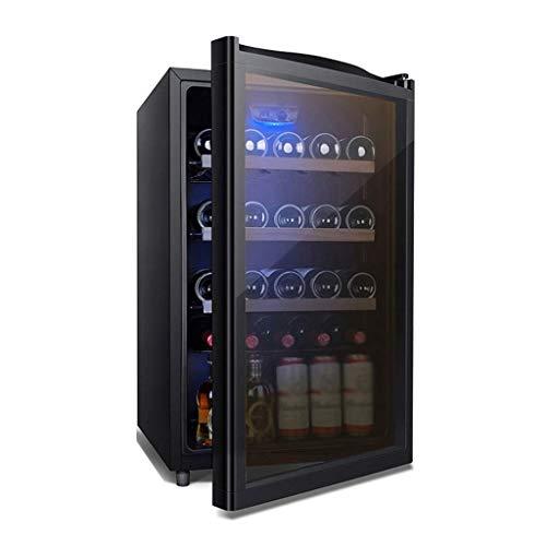 Petits réfrigérateurs for Chambre avec porte en verre et Led bleu clair, les boissons Réfrigérateur et Cooler - 116L, 40dB, boissons Réfrigérateur, boissons Réfrigérateur Cooler Wine Collection 8bayfa