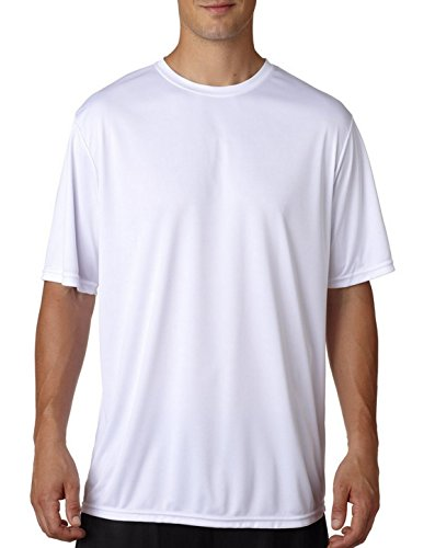 A4 N3142 Adult Cooling Performance Tee White X-Large
