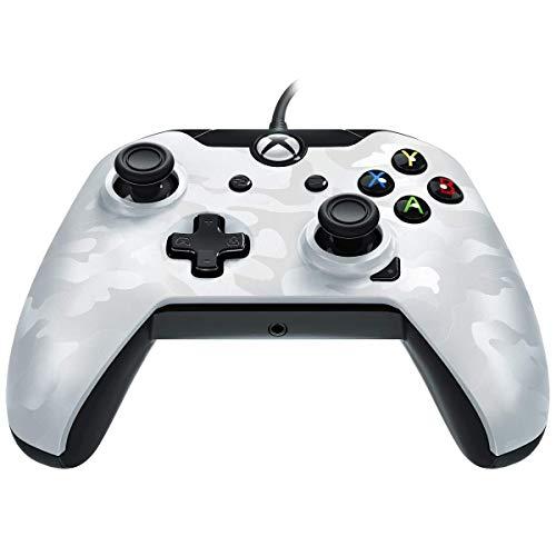 Manette filaire pour Xbox One /S/X/PC - Camo Blanc