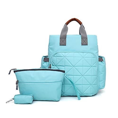 Sac à langer pour maman, sac à langer avec fermeture Éclair pour poussette, sac à main, sac à dos étanche