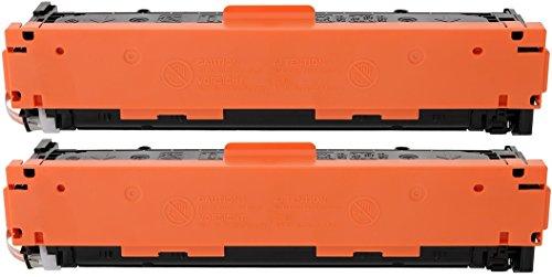 TONER EXPERTE® 2 Schwarz Toner kompatibel für HP Laserjet Pro 200 Color M251n M251nw MFP M276n M276nw Canon i-SENSYS LBP7100Cn LBP7110Cw MF623Cn MF628Cw MF8230Cn MF8280Cw (2400 Seiten)