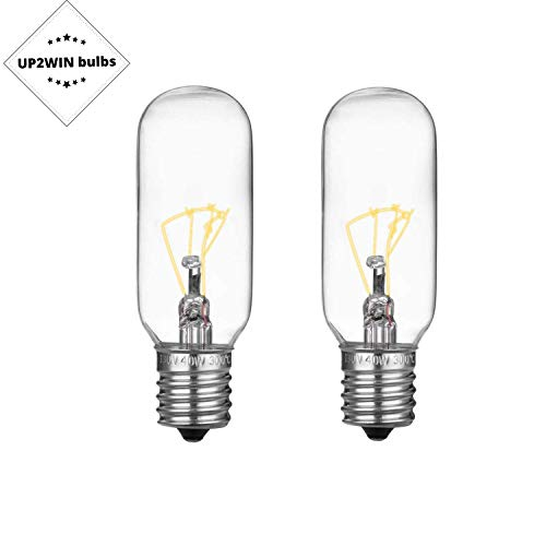 Light Bulb for GE Microwave Oven - Microwave Light Bulb fits for GE Whirlpool Maytag Frigidaire Kenmore Over the Range Hood Microwave, Stove Light Bulb for GE microwave, Replaces WB36X10003, 2Pack