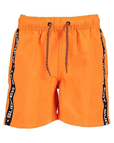 Blue Seven - jongens zwembroek - neon oranje