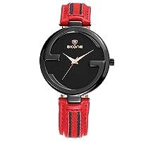 QTMIAO 美しいSKONE時計 ファッションレディースウォッチベルトクォーツ時計 (Color : 5)