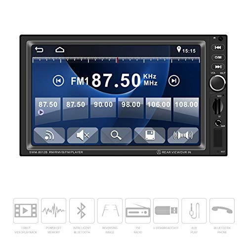 Surenhap Autoradio HD Bluetooth écran Tactile 7\
