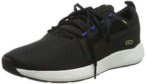 PUMA NRGY Neko Turbo Zapatillas de Running para Hombre,Negro ( Puma Black-Galaxy Blue ) , 44 EU
