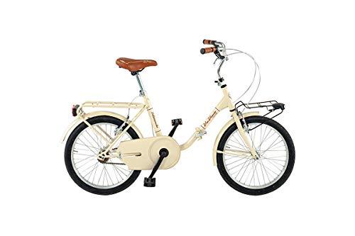 Bicicleta plegable Folding Via Veneto Monovelocidad Beige
