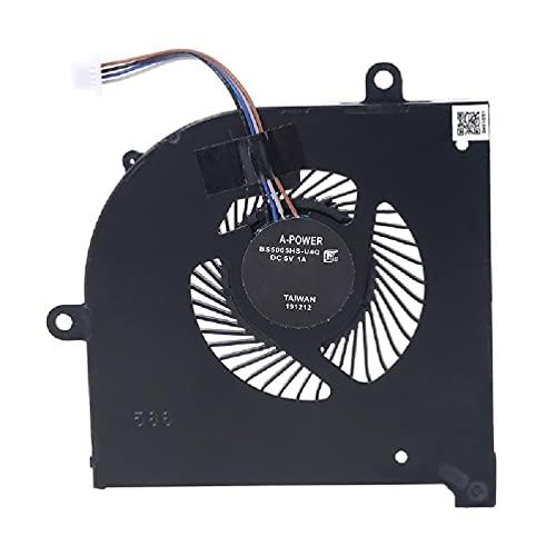Ventilador de CPU GPU para portátil BS5005HS-U3I para MSI GS75 GP75 MS-17G1 MS-17G2