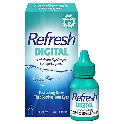 Refresh Digital Lubricant Eye Drops, 0.34 Fl Oz Sterile
