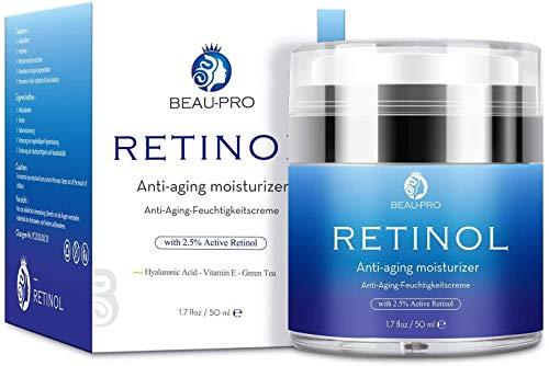Crema Hidratante con Retinol para Día y Noche por- Crema Antiarrugas, retinol...