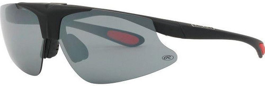 Rawlings Flip-Up Award-winning store Sunglasses Grey 40% OFF Cheap Sale Black