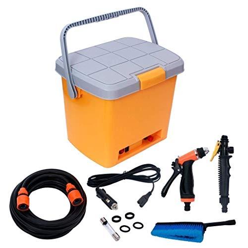 Vropsy Portable Water Spray High Pressure Car Washing Machine, Multi Color