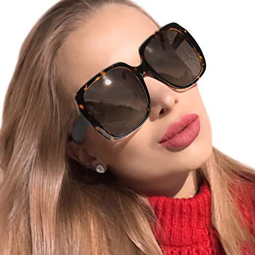 MuJaJa Gafas de Sol de mujer Polarizadas, Marco Grande...
