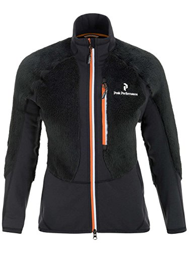 Peak Performance Damen Fleecejacke Black Light Highloft Fleece Jacket