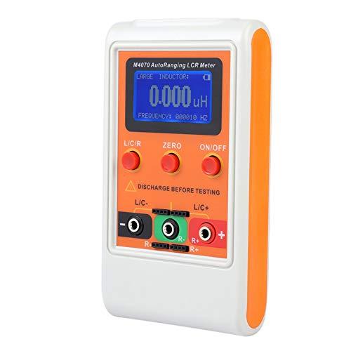 Probador de inductancia de rango automático de panel de batería digital en medidor de circuito Capacitanc para la industria