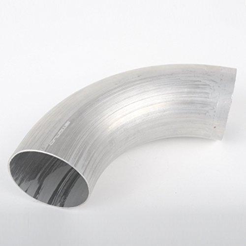 Ø 70mm Aluminium Rohrbogen 90° (AlMgSi0,5 Alubogen)
