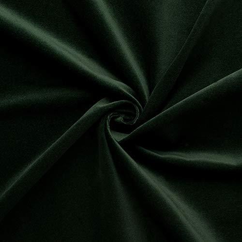 Juwel - velluto di 100% cotone - per decorazioni - abiti medievali - tessuto/stoffa al metro (abete)
