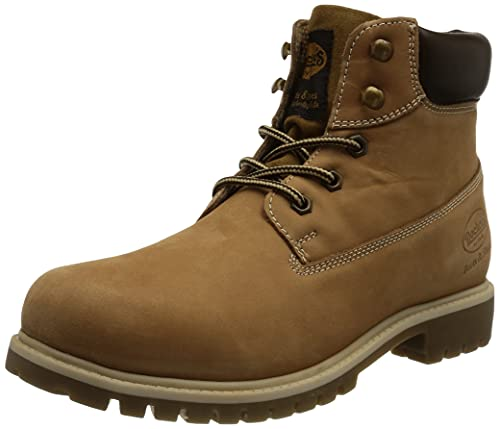 Dockers by Gerli Classic Boot Illinois, Botas de Moda Hombre, Bronceado Dorado, 47 EU