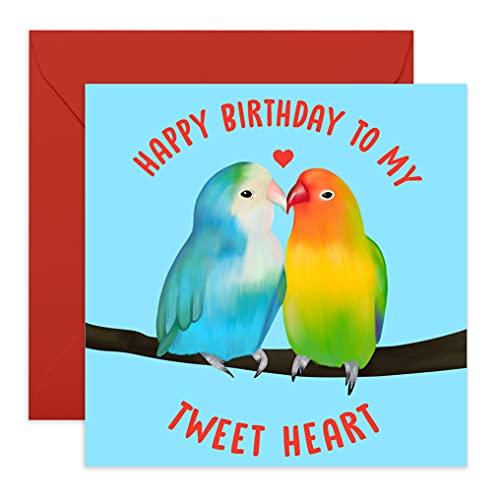 Central 23 - Tarjeta de cumpleaños para marido o esposa - 'Happy...